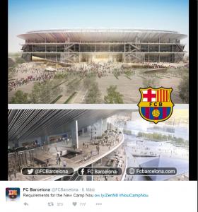 Umbau Camp Nou