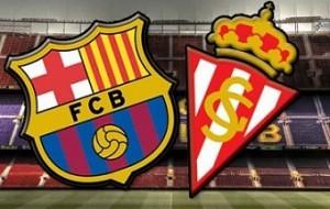 Barcelona-Sporting Gijon