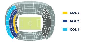 Sitzplätze Camp Nou