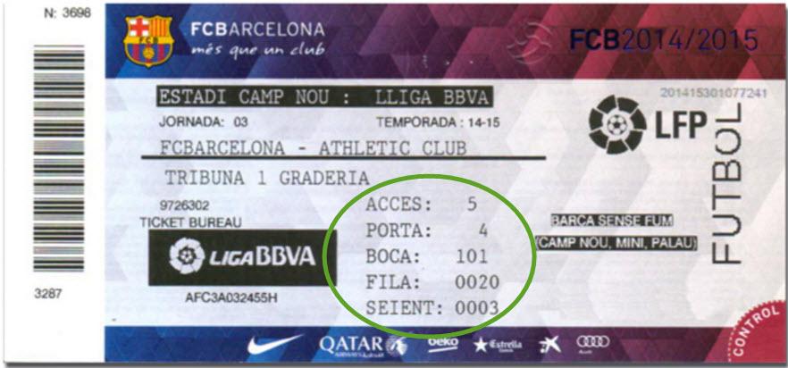 Karten FC Barcelona