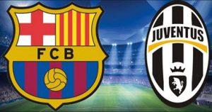 Barcelona - Juventus Champions League