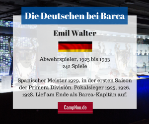 Emil Walter Barcelona