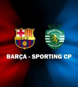 FC Barcelona - Sporting Lissabon